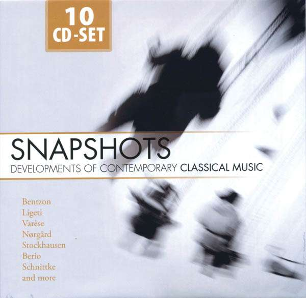 VARIOUS - Snapshots - Developments Of Contemporary Classical Music - Coffret CD