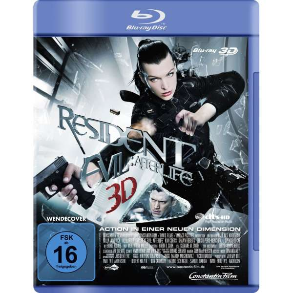 Resident evil afterlife 3d blu ray blu ray disc