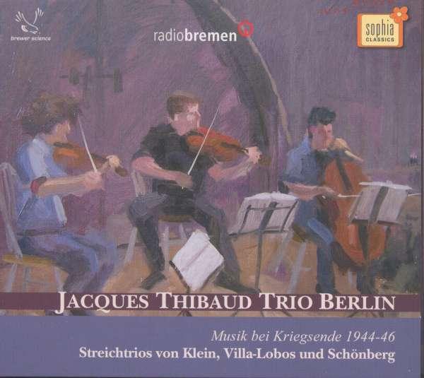 Jacques Thibaud Trio cover