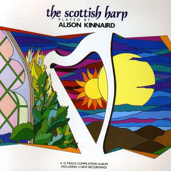 ALISON KINNAIRD - The Scottish Harp - CD