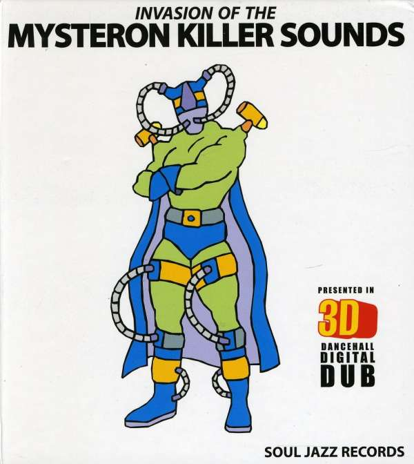 VARIOUS - Invasion Of The Mysteron Killer Sounds In 3D - CD x 2