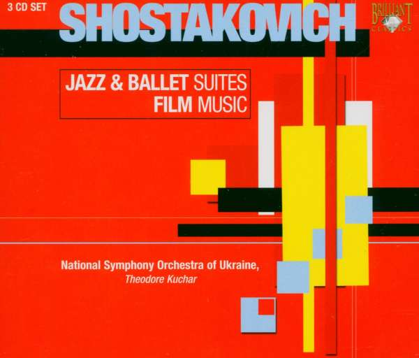 Shostakovich Jazz Suite Ballet Suite Film Music