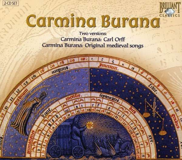 CARL ORFF - Carmina Burana. Two Versions: Carmina Burana: Carl Orff - Carmina Burana: Original Medieval Songs - CD x 2
