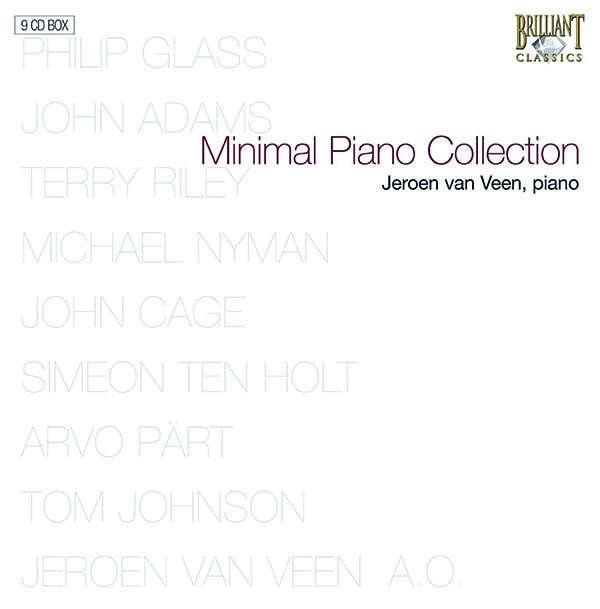 JEROEN VAN VEEN - Minimal Piano Collection - Coffret CD