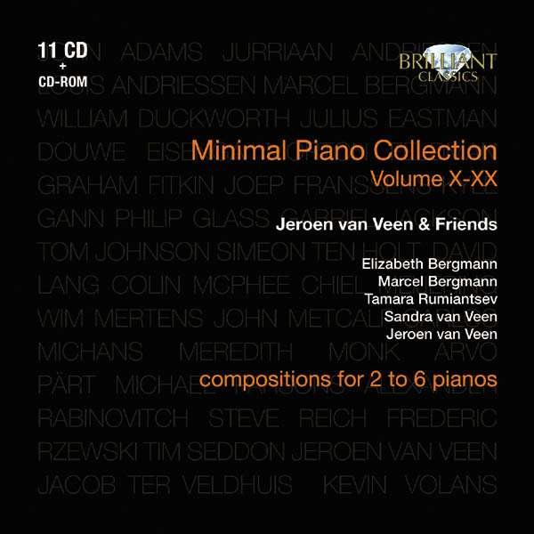 ELIZABETH BERGMANN , MARCEL BERGMANN , TAMARA RUMI - Minimal Piano Collection Volume X-XX - Coffret CD
