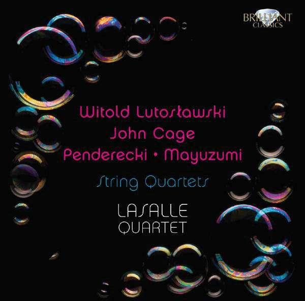 WITOLD LUTOSŁAWSKI • JOHN CAGE • PENDERECKI • MAYU - String Quartets - CD