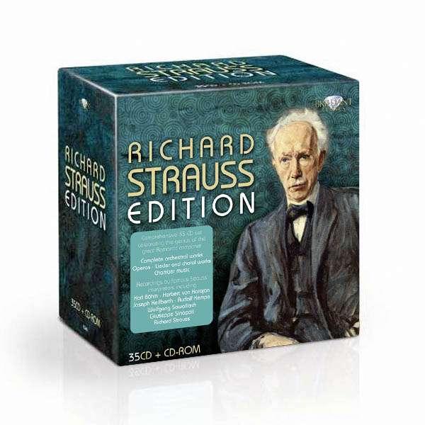 Richard Strauss: coffrets Brilliant, EMI/Warner etc. 5029365924924