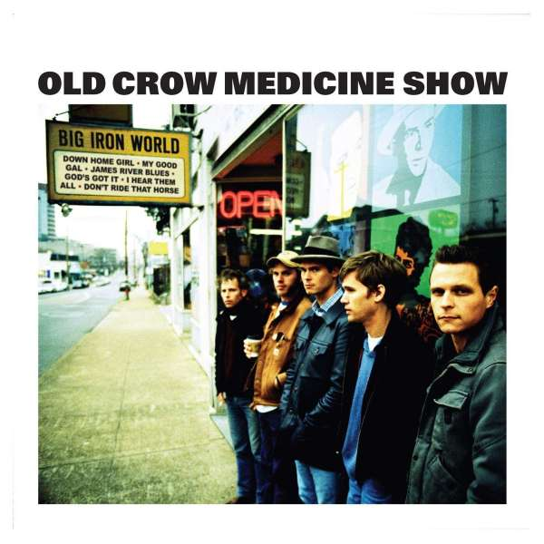 OLD CROW MEDICINE SHOW - Big Iron World - CD