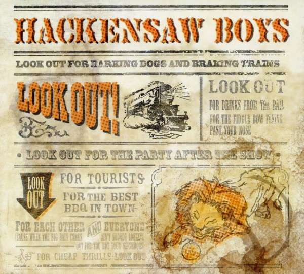 HACKENSAW BOYS - Look Out! - CD