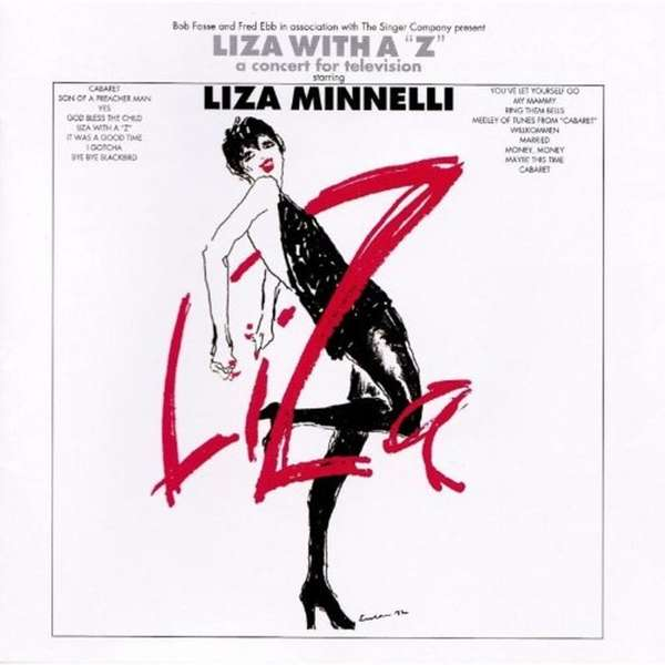 LIZA MINNELLI - Liza With A ''Z'' (A Concert For Television) - LP x 2