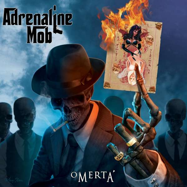 Album or Cover Adrenaline Mob Omerta Adrenaline Mob Omertá cd