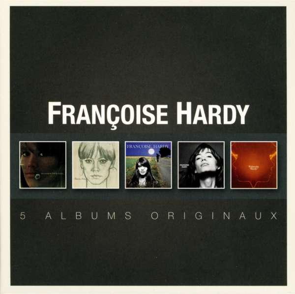 FRANÇOISE HARDY - 5 Albums Originaux - Coffret CD