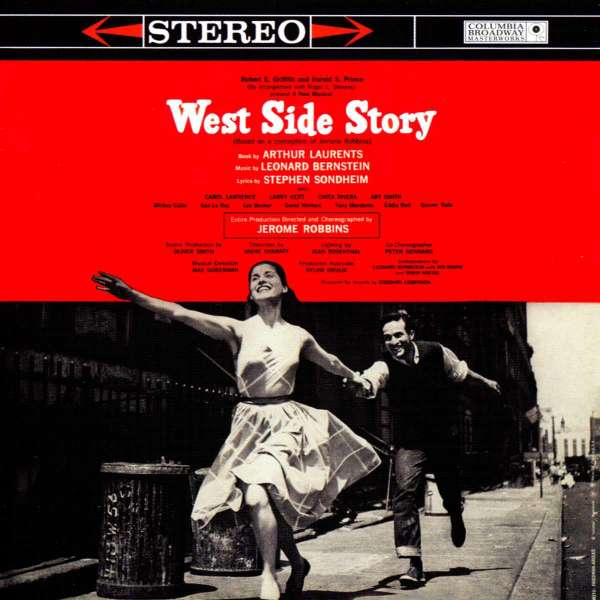 VARIOUS , MUSIC BY LEONARD BERNSTEIN , MUSIC BY ST - West Side Story - Original Broadway Cast Recording- Stereo - CD