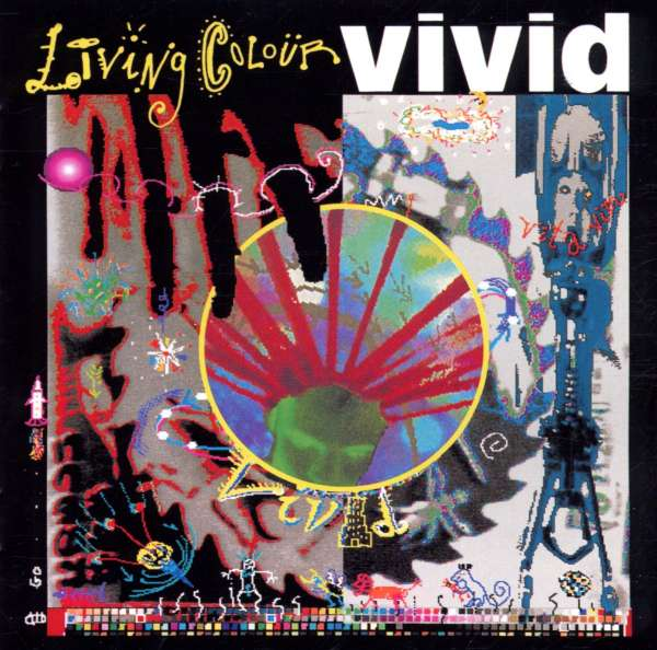 LIVING COLOUR - Vivid - CD