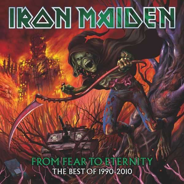 IRON MAIDEN - From Fear To Eternity - The Best Of 1990-2010 - CD x 2