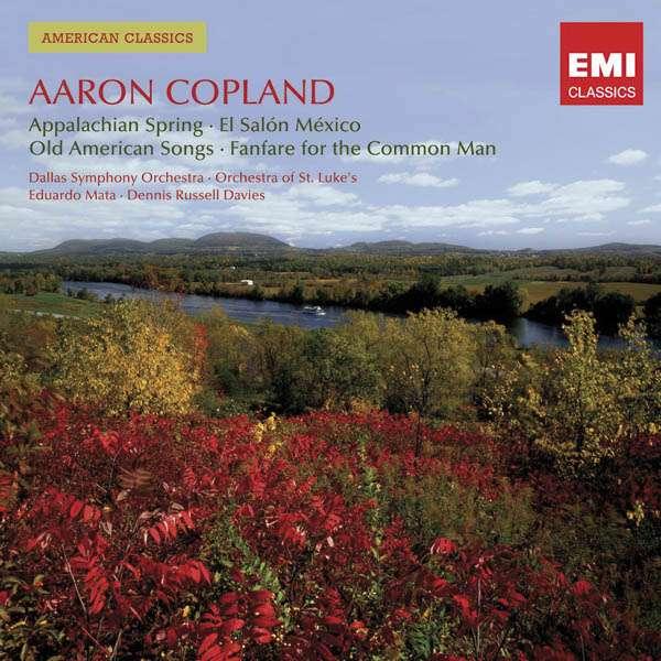 Aaron copland 1900 1990 appalachian spring cd jpc for Aaron copland el salon mexico