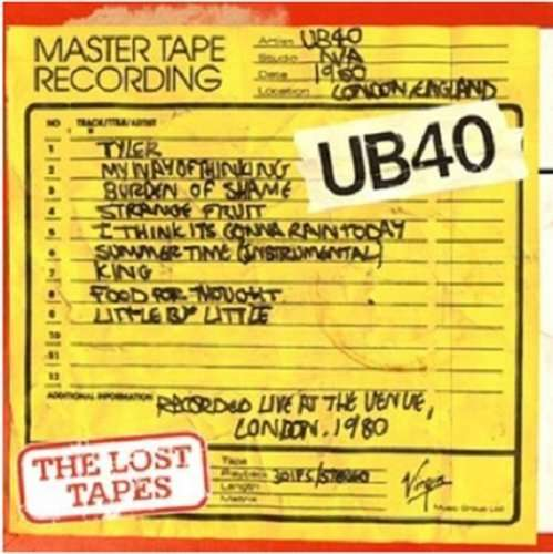 UB40 - The Lost Tapes 1980 - CD
