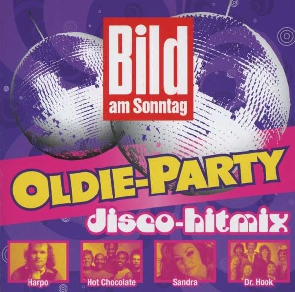 bild am sonntag oldie party disco hitmix 2 cds jpc. Black Bedroom Furniture Sets. Home Design Ideas
