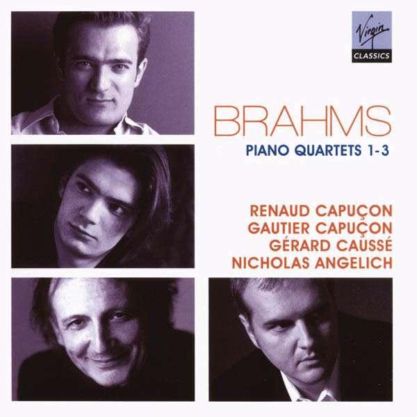 Brahms - Brahms : les quatuors pour piano et cordes 5099951931025