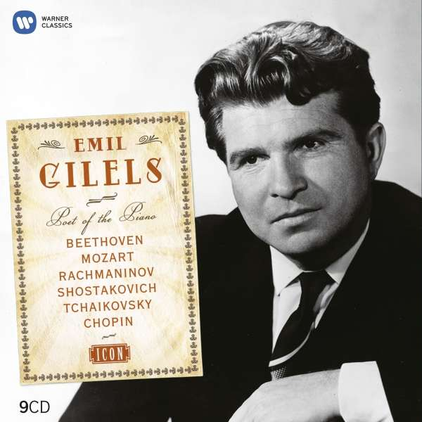 EMIL GILELS - Icon Complete Emi Recordings (9cd)