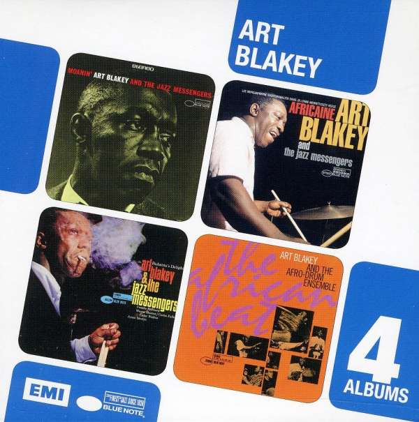 ART BLAKEY - 4 Cd Boxset (a Night In Tunisia/moanin/the Big Beat/buhaina's Delight)