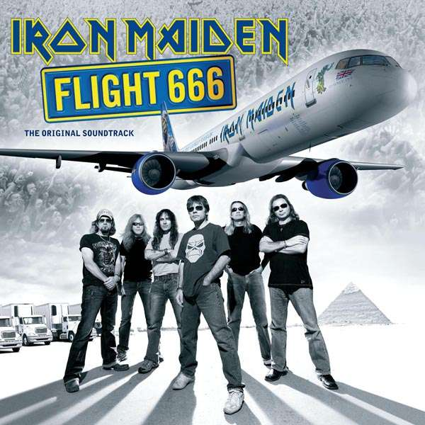 IRON MAIDEN - Flight 666 - The Original Soundtrack - 33T x 2