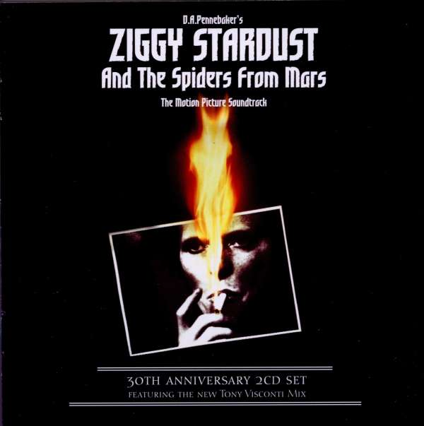 DAVID BOWIE - Ziggy Stardust And The Spiders From Mars (The Motion Picture Soundtrack) - CD x 2