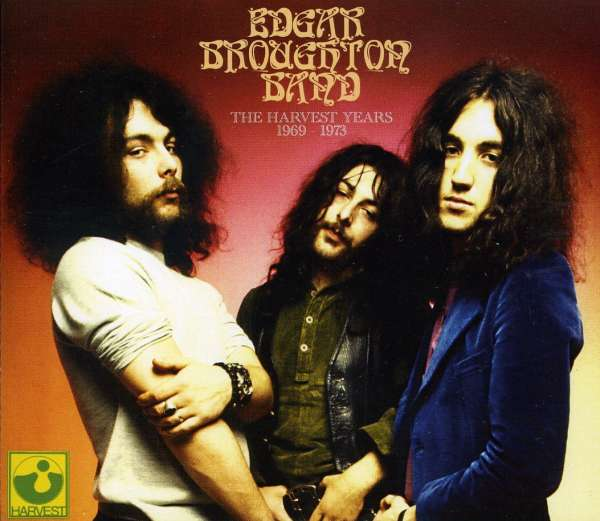 EDGAR BROUGHTON BAND - The Harvest Years 1969 - 1973 - CD x 4