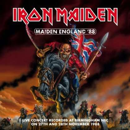 IRON MAIDEN - Maiden England '88 - CD x 2