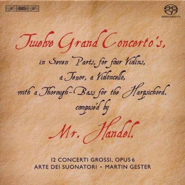 Haendel - Haendel : les 12 concerti grossi opus 6 7318591705062