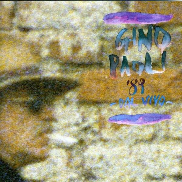 GINO PAOLI - '89 Dal Vivo - CD