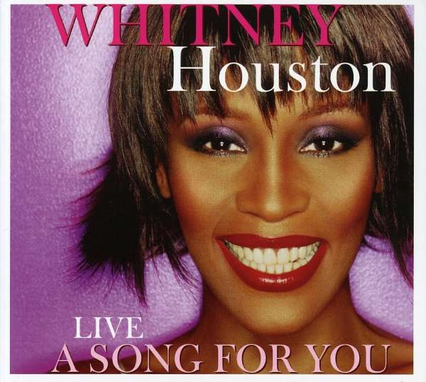 WHITNEY HOUSTON - Live A Song For You - CD