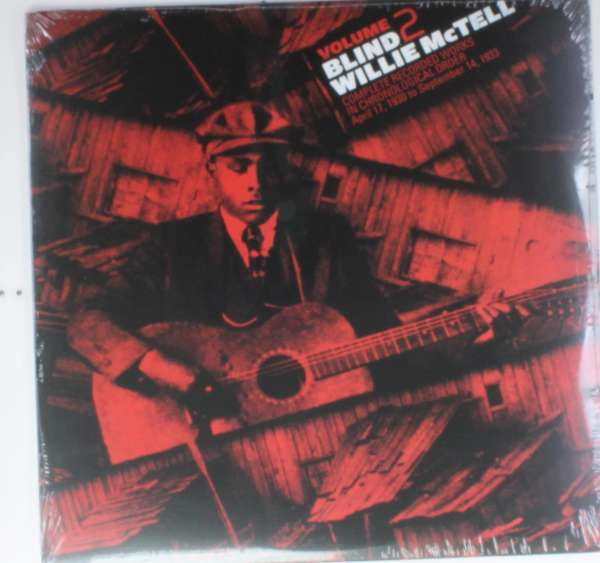 BLIND WILLIE MCTELL - Complete Recorded Works In Chronological Order, Vol. 2 - LP