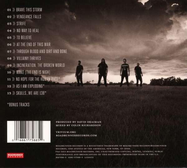 3% на восстановление). Исполнитель: Trivium Страна: USA Альбом: Vengeance Falls