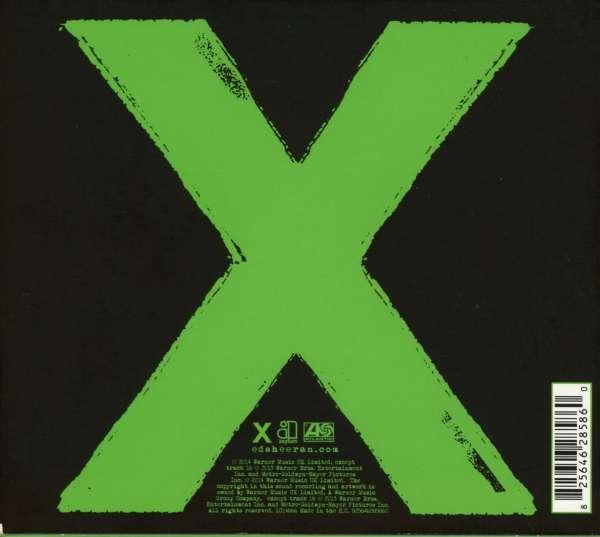 Ed Sheeran X Deluxe Edition Cd Jpc
