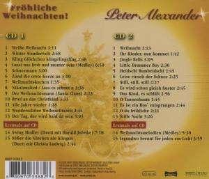peter alexander fr hliche weihnachten 2 cds jpc. Black Bedroom Furniture Sets. Home Design Ideas