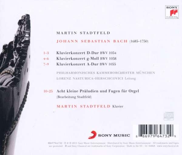 Martin STADTFELD ...né en 1980 0886979647329