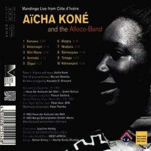 Aicha Kone Mandingo Live From Cote D Ivoire Cd Jpc
