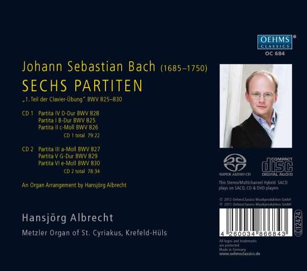 Bach: transcriptions diverses 4260034866843
