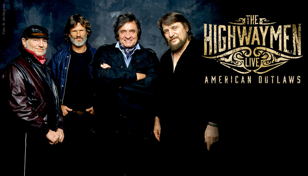 The Highwaymen American Outlaws Live 3 Cds