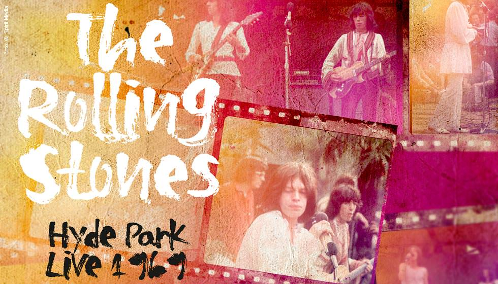 The Rolling Stones Hyde Park Live 1969 Blu Ray Disc