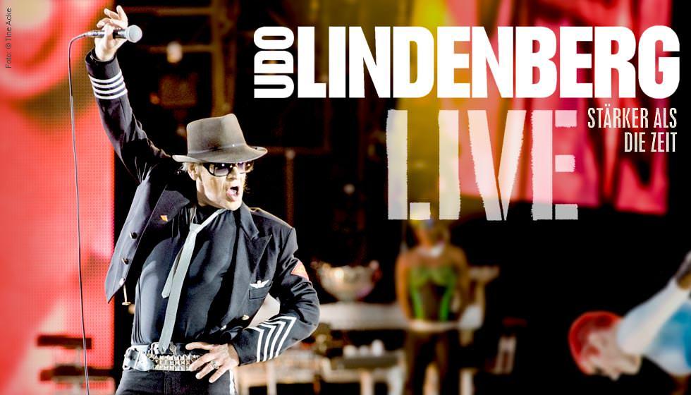 Udo Lindenberg Stärker Als Die Zeit Live 2 Dvds Jpc