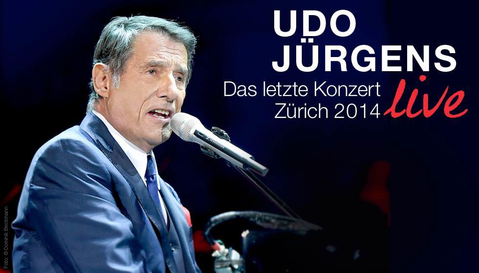 Udo Jürgens Das Letzte Konzert Zürich 2014 Live Blu Ray Disc Jpc