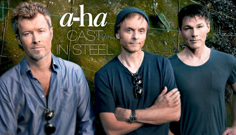 A Ha Cast In Steel Deluxe Edition 2 Cds Jpc