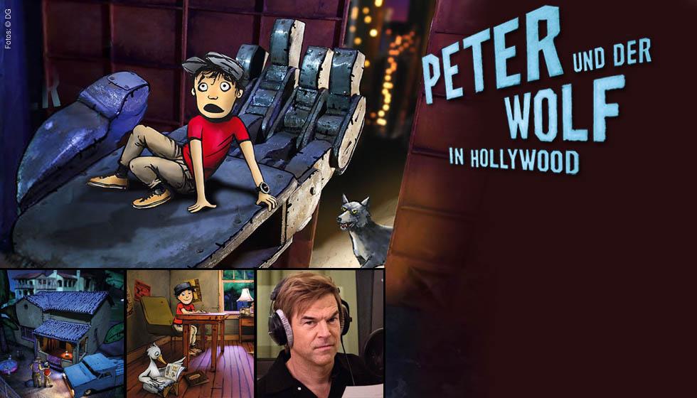 peter und der wolf in hollywood cd jpc. Black Bedroom Furniture Sets. Home Design Ideas