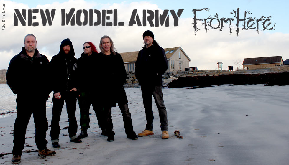 New Model Army From Here