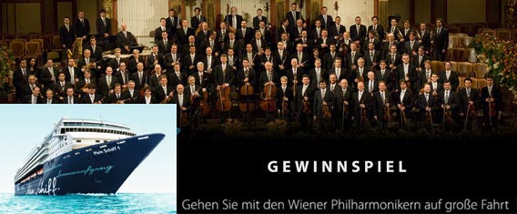 Wiener Philharmoniker auf Kreuzfahrt mit TUI Cruises