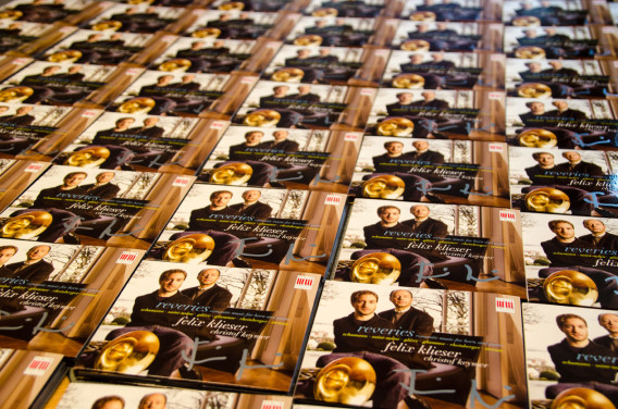 signierte CDs: Felix Klieser, Reveries