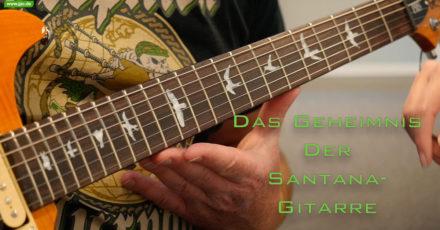 Das Geheimnis der Santana-Gitarre