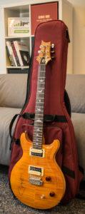 Santana-Gitarre mit Tasche